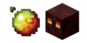 Minecraft Magma Cube and Magma Cream Cursor