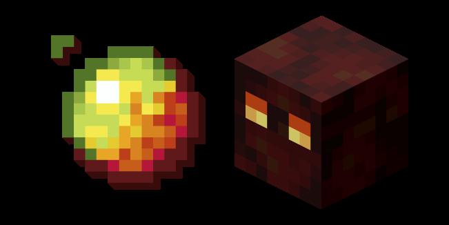 Minecraft Magma Cube and Magma Cream