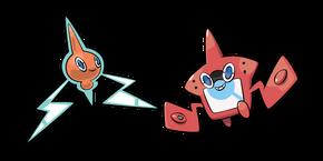 Pokemon Rotom and Rotom Pokédex Cursor