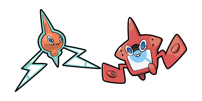 Pokemon Rotom and Rotom Pokédex
