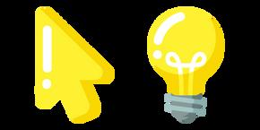 Minimal Light Bulb Cursor