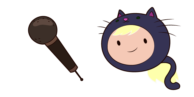 Adventure Time Susan Strong and Microphone