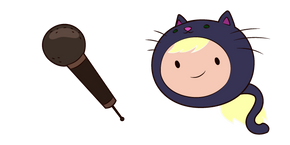 Adventure Time Susan Strong and Microphone Cursor