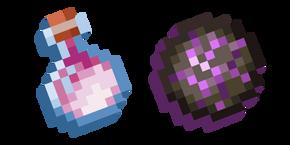 Minecraft Dragon's Breath and Dragon Fireball Curseur