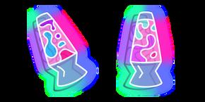 Neon Lava Lamp Curseur