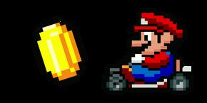 Курсор Super Mario Kart Марио и Монета