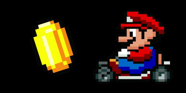 Super Mario Kart Mario and Coin
