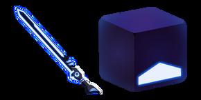 Beat Saber Blue Cube and Saber