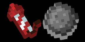 Minecraft Firework Rocket and Star Cursor