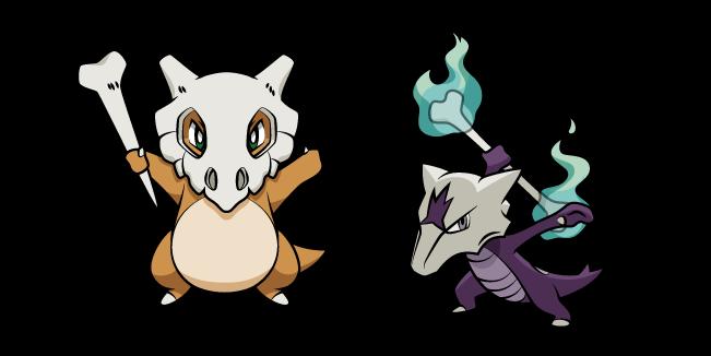 Pokemon Cubone and Marowak
