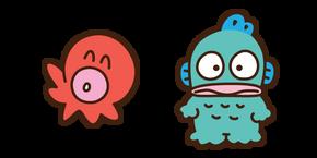 Sayuri the Octopus and Hangyodon Curseur