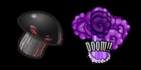 Plants Vs. Zombies Doom Shroom and His Explosion
