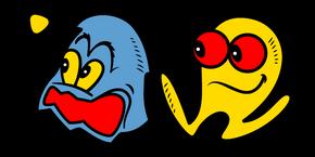 Pac-Man 1980 Retrospective Cursor