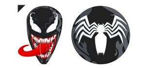 Venom Logo Curseur