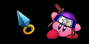 Kirby Ninja and Kunai Cursor