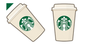 Курсор Starbucks Coffee Cup