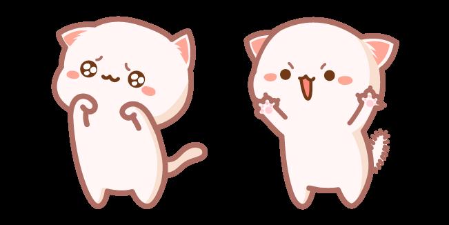 Cute Mochi Mochi Peach Cat Roar