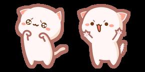 Курсор Милый Mochi Mochi Peach Cat Атакует