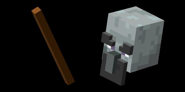 Minecraft Geomancer and Walking Stick