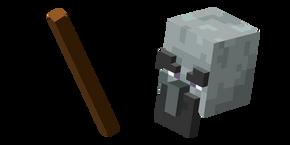 Курсор Minecraft Геомант и Трость