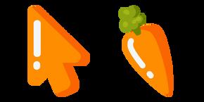Курсор Минималистичная Морковь