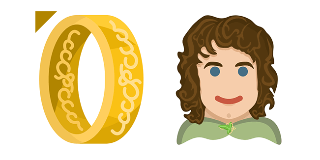 Lord of the Rings Frodo Baggins & One Ring