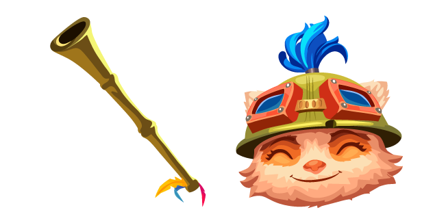 League of Legends Teemo and Blowgun