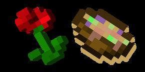 Minecraft Poppy and Suspicious Stew Cursor
