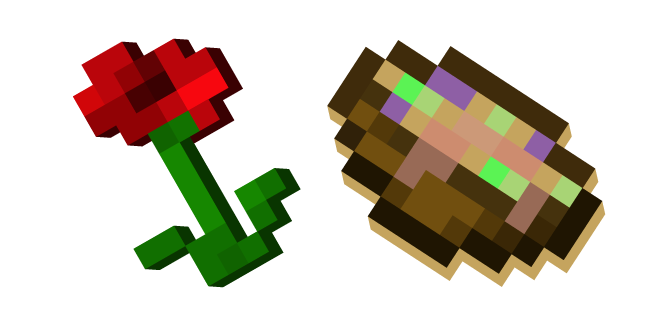 Minecraft Poppy and Suspicious Stew