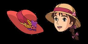 Howl's Moving Castle Sophie and Hat Cursor
