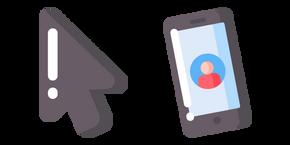 Minimal Phone Cursor