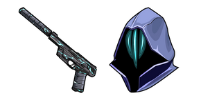 Valorant Omen and Soul Silencer Ghost Cursor