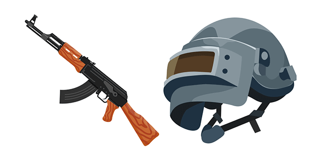PUBG Helmet and AKM
