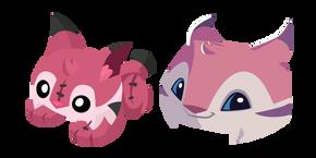 Animal Jam Lynx and Lynx Plushie Cursor