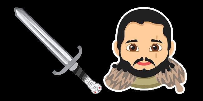 Game Of Thrones Jon Snow Longclaw Sword Cursor Custom Cursor Browser Extension