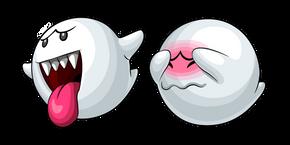 Super Mario Boo and Shy Boo