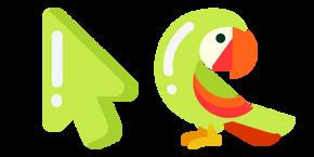 Курсор Минималистичный Попугай