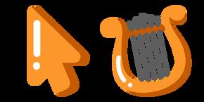 Minimal Lyre Cursor