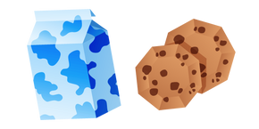 Origami Milk and Cookies