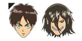 Attack on Titan Eren Cursor