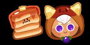 Cookie Run Pancake Cookie and Pancake Frisbee Cursor