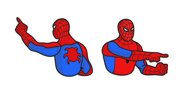 Spider-Man Pointing at Spider-Man Meme