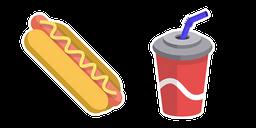 Hot Dog and Cola Cursor