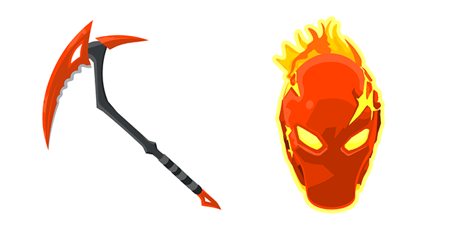 Fortnite Inferno Skin Pickaxe