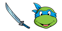 Teenage Mutant Ninja Turtles Leonardo Curseur