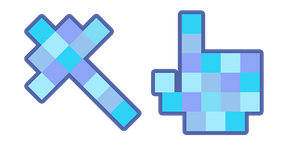 Курсор Blue Squares