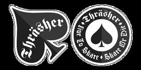 Thrasher Logo Curseur