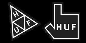 HUF Logo Cursor