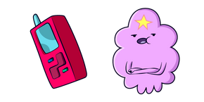 Курсор Adventure Time Lumpy Space Princess