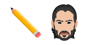 John Wick Pencil Cursor